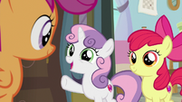 "Sweetie Belle ""your aunts are so nice"" S9E12"