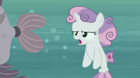 Sweetie belle sighing in frustration S8E6