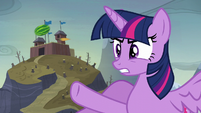 """Twilight """"you planted ponies in that cake?!"""" S5E23"""