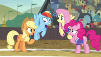 """Applejack """"it doesn't matter if you win or not"""" S6E18"""