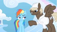 Dumb-Bell taunts Rainbow Dash S01E16