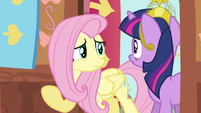 Fluttershy to get her out S3E13