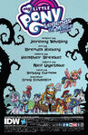 Legends of Magic Annual 2018 credits page