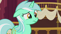 Lyra listening to Sweetie Drops S5E9