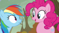 Pinkie -I was just saying how cute- S5E5