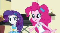 """Pinkie Pie """"our geodes will go all glowy"""" EGDS5"""