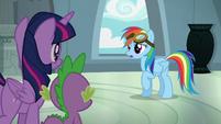 """Rainbow Dash """"you're right!"""" S6E7"""