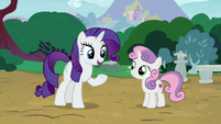 """Rarity """"before I have to head back to Canterlot"""" S7E6"""