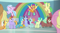 """Smolder """"this was Fluttershy's idea?"""" MLPS3"""