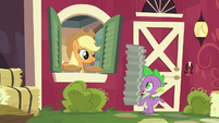 Spike --another order of pies, please-- S6E10