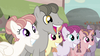 Stallion wants the Mane 6 to join them S5E02