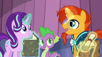 Sunburst --to clear away the snow-- S6E2