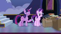 "Twilight Sparkle ""get rid of these boxes"" S6E25"