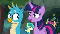 "Twilight Sparkle ""you don't mean that"" S8E17"