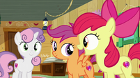 "Apple Bloom ""We do exactly what we got our cutie marks in!"" S6E4"