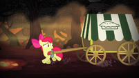 Apple Bloom running away S4E17
