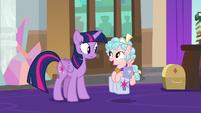 Cozy -I asked Professor Rainbow Dash- S8E25