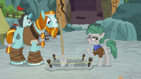 Fossil -we're trying to carefully preserve- S8E21