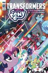 My Little Pony Transformers issue 4 cover A