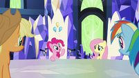 "Pinkie ""I think Sans Smirk's hooves"" S9E14"