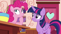 Pinkie --the only thing I might've gotten wrong-- S6E22