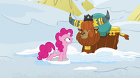 """Pinkie Pie """"and the yak snow sandwiches?"""" S7E11"""