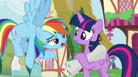 """Rainbow """"you haven't seen Scoot, have you?"""" S8E20"""