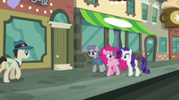 Rarity --you Pie sisters have just about the sweetest family traditions!-- S6E3