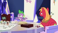 """Spike """"you're kind of a weirdo"""" S6E17"""