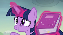 """Twilight Sparkle """"we can move it up"""" S5E23"""