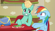 Zephyr Breeze flirting with Rainbow Dash S6E11.png