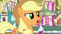 "Applejack ""I might be a little too practical"" S7E9"