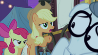 """Applejack """"and we want to know how it works"""" S4E20"""