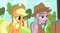 Applejack -wanderin' into the wrong cave- S7E5