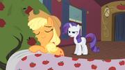 Applejack hugs Bloomberg S01E21.png