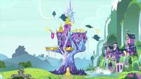 Castle of Friendship in springtime MLPS2