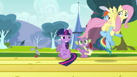 Fluttershy after passing anemometer S2E22