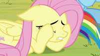Fluttershy covering her eyes S9E15