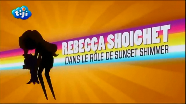 My Little Pony Equestria Girls Rainbow Rocks 'Rebecca Shoichet as Sunset Shimmer' Credit - French.png