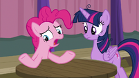"""Pinkie Pie """"could have helped a little"""" S9E16"""