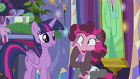 Pinkie Pie -multiply that times infinity!- S5E20