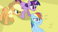 Rainbow Dash at the ground S2E26