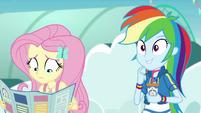 Rainbow Dash likes Fluttershy's idea EGROF