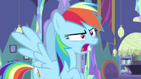 Rainbow Dash makes honking sounds MLPS2