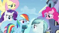 Rainbow Dash making things worse S3E12