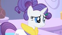 Rarity no pony S1E20