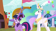 S05E11 Celestia i Twilight Sparkle