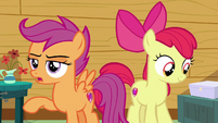 "Scootaloo ""hang on a second"" S6E19"