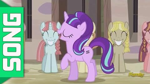 Song In Our Town - My little Pony (The Cutie Map) ( Lyrics)-0