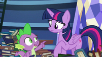 """Spike """"have a problem with that"""" S8E24"""